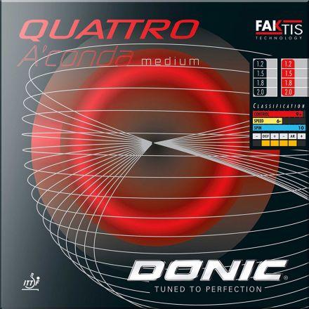 DONIC Quattro A´conda Soft 1,5mm schwarz  NEU OVP