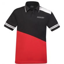Donic Polo-Shirt Prime schwarz/rot