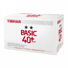 Tibhar Ball Basic ** 40+ SYNTT 72er weiß